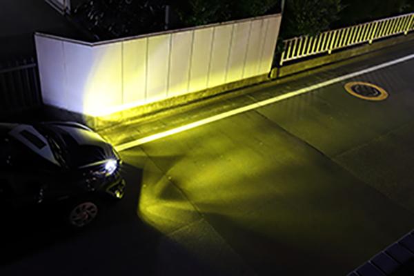 フォグランプ_LED黄色