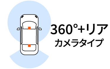 オートバックス_ドライブレコーダー_360度+リアカメラタイプ